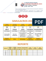SIMULACROS 2019