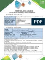 Guía de Actividades y Rúbrica de Evaluación - Paso 5 - Ejecución