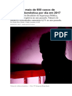 Brasil tem mais de 600 casos de violência doméstica por dia em 2017.docx