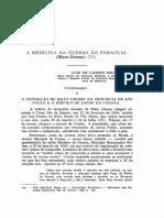 Medicina Ne Guerra Do Paraguaia MT Volume 2