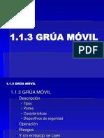 1.1.3 GRUA MOVIL