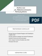 PKPK3103 PERANCANGAN PENGAJARAN