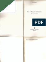 La Pasión y La Condena- Fragmento- J. Villoro
