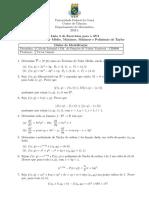 lista 2 ap 2 calculo 3