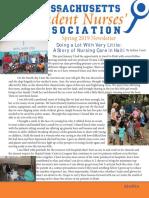 masna spring newsletter 2019