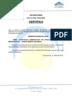 Certificado de Trabajo Lizbeth Rsc
