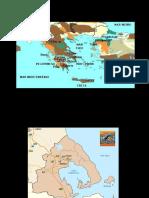 Civilización micénica y minoica