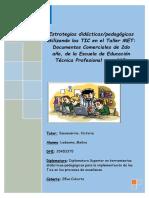 Diplomado Superior en Herramientas Didácticos Pedagógicas Para La Implementación de Las TICS en Los Procesos de Enseñanaza 28va Cohorte TRABAJO FINAL CORREGIDO