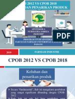 Cpob 2012 vs Cpob 2018