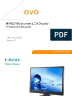 H-W22 Product Introduction V2 20070628