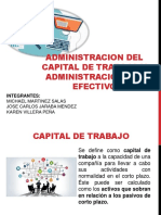 Administracion Del Capital de Trabajo y Admin