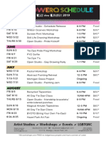 schedule of events print  2