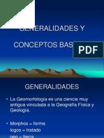 GEOMORFOLOGIA conceptos generales