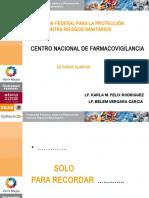 presentacion COFEPRIS  farmacovigilancia 3 mayo.ppt