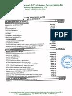 Informe Financiero ANPA Marzo 2019