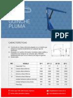Hidráulica Costa Guinche-pluma