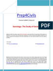01 IGNOU Sociology the Study of Society Www Prep4civils Com