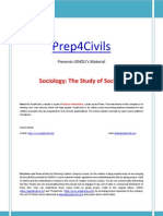 01 IGNOU Sociology the Study of Society Www Prep4civils Com