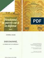 Zohra Mahi - Dieudonné, la parole est à la défense.pdf