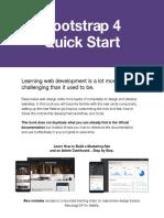 Sample Bootstrap 4 Quick Start