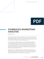 Starbucks Marketing Analysis