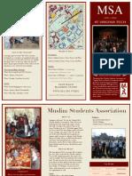 MSA Brochure