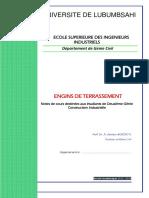 Cours de Terrassement_2è Génie CI-2015-2016