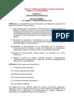 Ley de Gobierno Digital y Firma Electronica Para El Estado de Tabasco y Sus Municipios