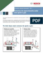Informativo Tecnico Comercial Apoio Gas
