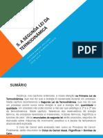 Capítulo 5 Termodinâmica 2015-2016
