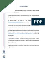 Instrucciones para ponentes