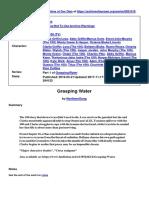 Grasping Water