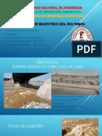 Exposicion Analisis Del Rio Rimac