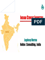 Indian cement industry