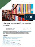 Libros de Programación en Español Gratuitos