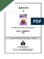 KRYON 2 - No Piense Como Un Humano.PDF
