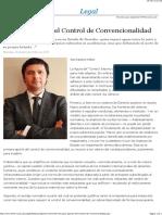 Cuatro aporías del Control de Convencionalidad - EML