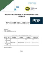 IT EEP 001 Instalación Bandejas y Tubería Rev00