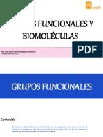 Biomoleculas y Grupos Funcionales