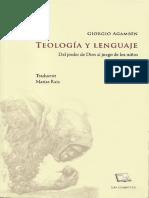 Teología y lenguaje [Giorgio Agamben].pdf