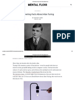 Riveting Facts About Alan Turing _ Mental Floss