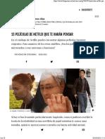 Películas NETFLIX 2018