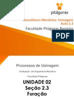 Usinagem - Aula 2.3.pdf
