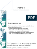 Information Science Theme 9 Class Notes