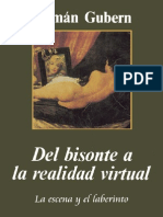 Del bisonte a la realidad virtual
