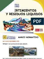 Vertimientos de Residuos Liquidos