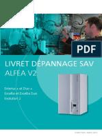LIVRET DÉPANNAGE SAV ALFEA V2. Extensa + et Duo + Excellia et Excellia Duo Evolution 2.pdf