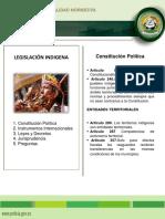 ABC de Legislacion Indigena