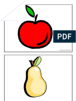 Picture Flashcards (Food) for Teaching English to Kids