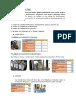Control de Calidad y Elementos Estructurales